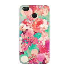 Floral  design,  Xiaomi Mi 4x  printed back cover