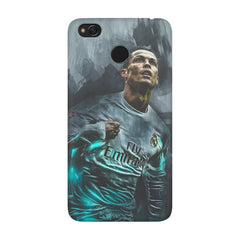 Oil painted ronaldo  design,  Xiaomi Mi 4x  printed back cover