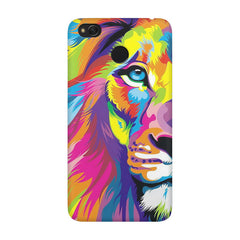 Colourfully Painted Lion design,  Xiaomi Mi 4x  printed back cover