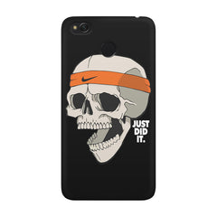 Skull Funny Just Did It !  design,  Xiaomi Mi 4x  printed back cover