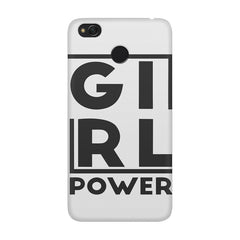 Girl power deisgn Xiaomi Mi 4x  printed back cover