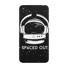 Spaced out by music design Xiaomi Mi 4x  printed back cover