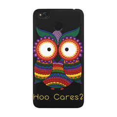 Owl funny illustration Hoo Cares Xiaomi Mi 4x  printed back cover