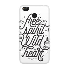 I am a free spirit design Xiaomi Mi 4x  printed back cover