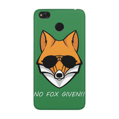 No fox given design Xiaomi Mi 4x  printed back cover