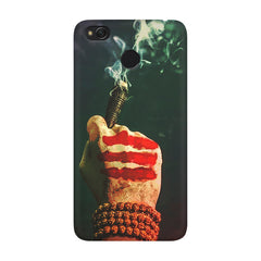 Smoke weed (chillam) design Xiaomi Mi 4x  printed back cover