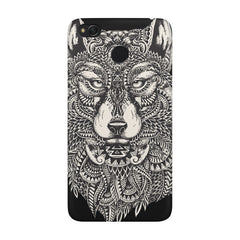 Fox illustration design Xiaomi Mi 4x  printed back cover