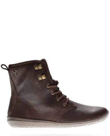 Gobi Hi Top Dark Brown Hide
