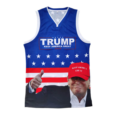 2020 trump basketball jersey