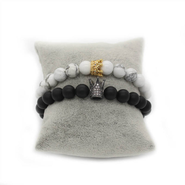 King & Queen Bracelet - Gift for Valentine's Day