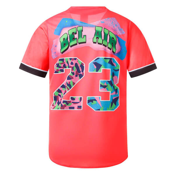 Bel Air 23 Printed Baseball Jersey