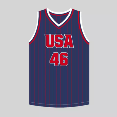 46 USA Basketball Jersey
