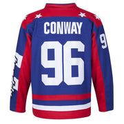 charlie conway mighty ducks usa jersey