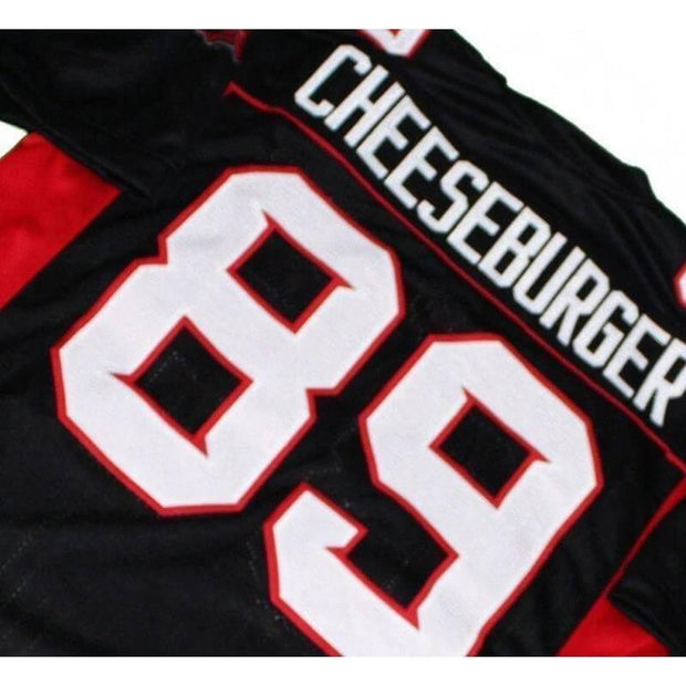cheeseburger mean machine football jersey