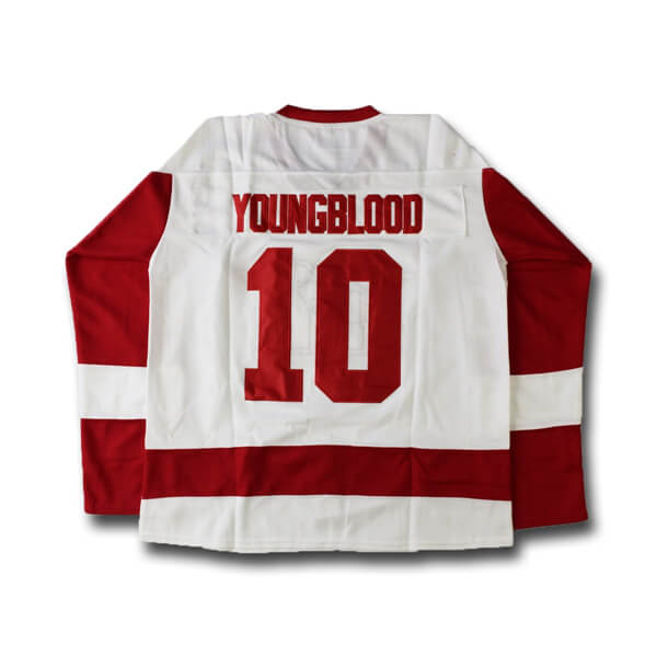 dean youngblood mustangs hockey jersey
