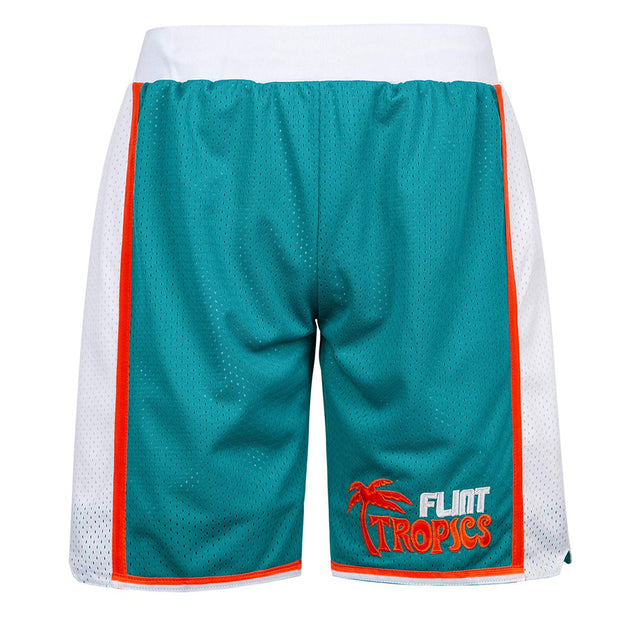flint tropics short green