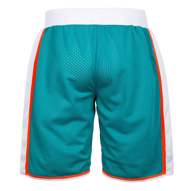 flint tropics short green back