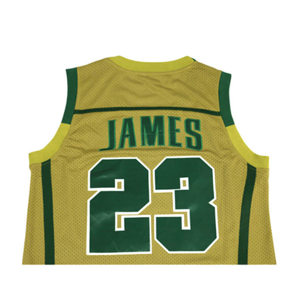 high school lebron james jersey