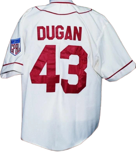 jimmy dugan rockford peaches baseball jersey