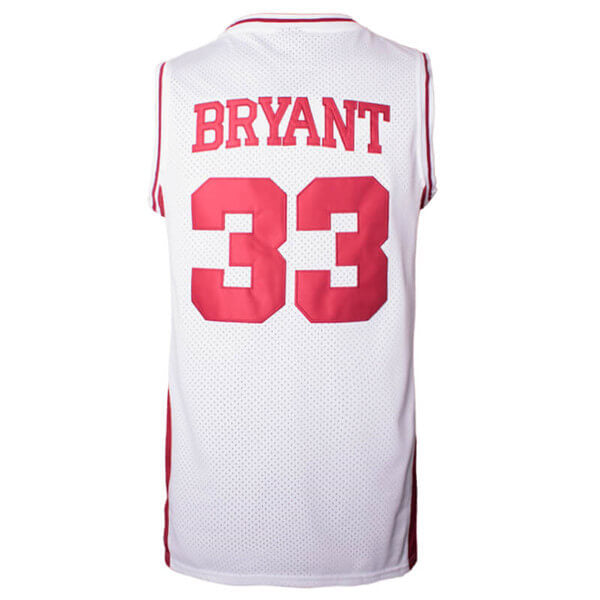 kobe bryant high school jersey red