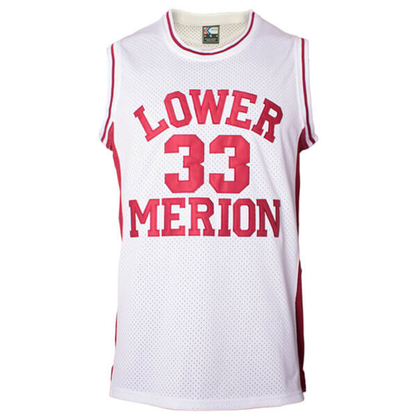 kobe bryant lower merion high school jersey red