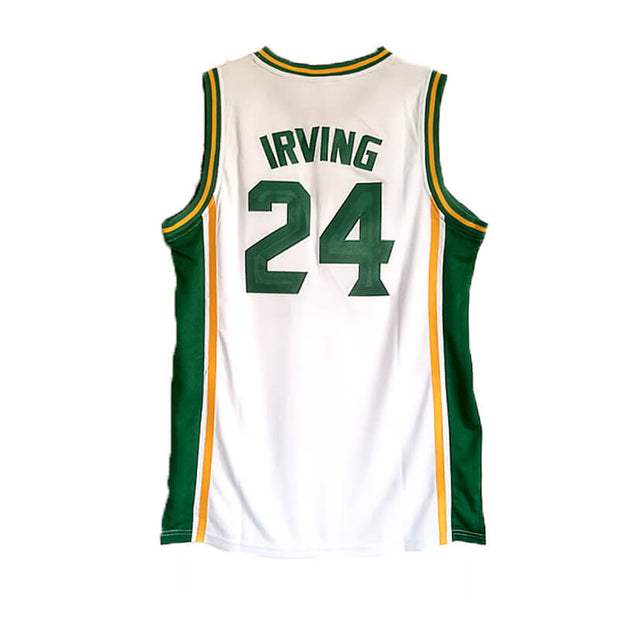 newest a0c79 95fb5 Kyrie Irving #24 St Patrick High School Basketball Jersey