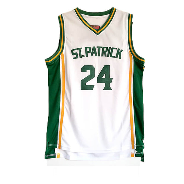 kyrie irving high st patrick jersey