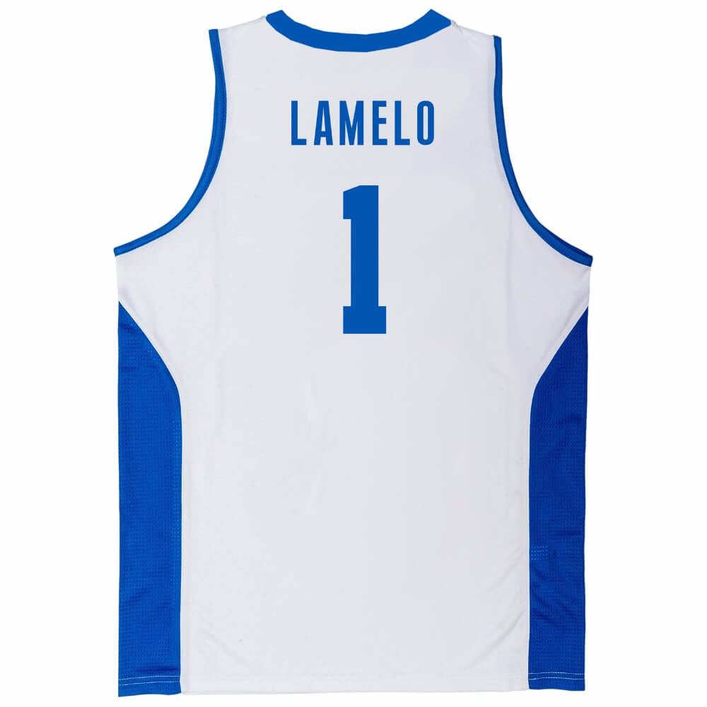 Lamelo Ball 1 Liangelo Ball 3 Lithuania Vytautas Jersey Jersey One