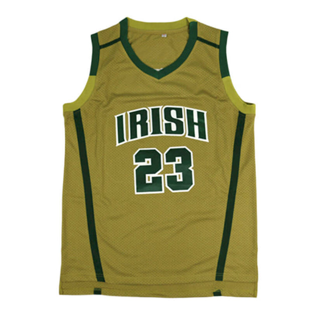 lebron james high school throwback jersey