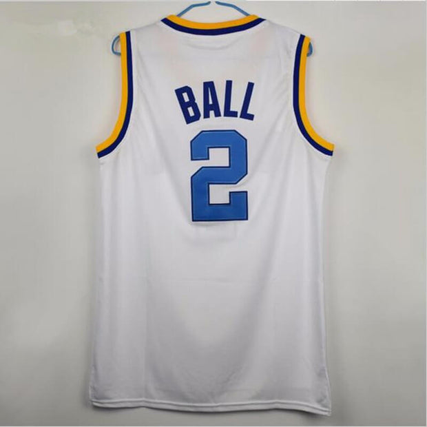 timeless design 1f72f 72114 Lonzo Ball UCLA Bruins College Throwback Jersey – Jersey One