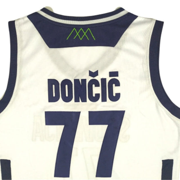 quality design 52431 08ce4 Luka Doncic Jersey: Slovenia Euroleague #77 Jersey on Sale ...