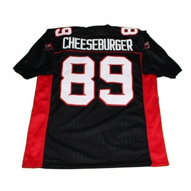 mean machine cheeseburger football jersey