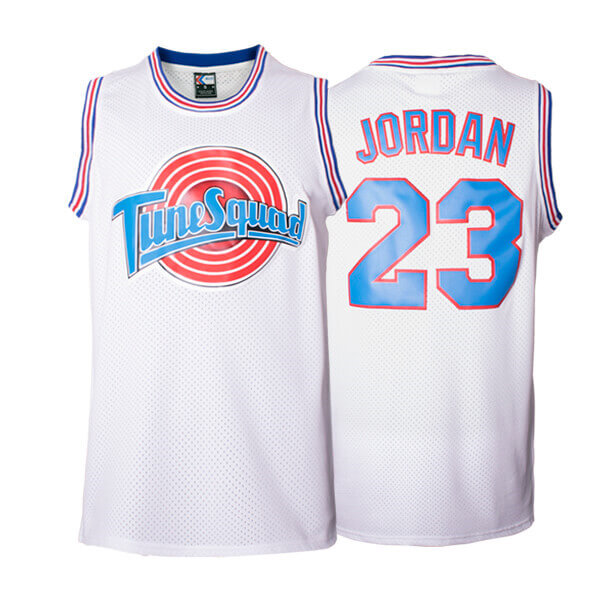 3fe2878f All Space Jam Tune Squad Looney Tunes White Jersey – Jersey One