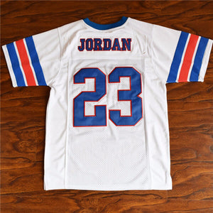 f75bd258bdd Michael Jordan #23 Space Jam Tune Squad Football Jersey – Jersey One