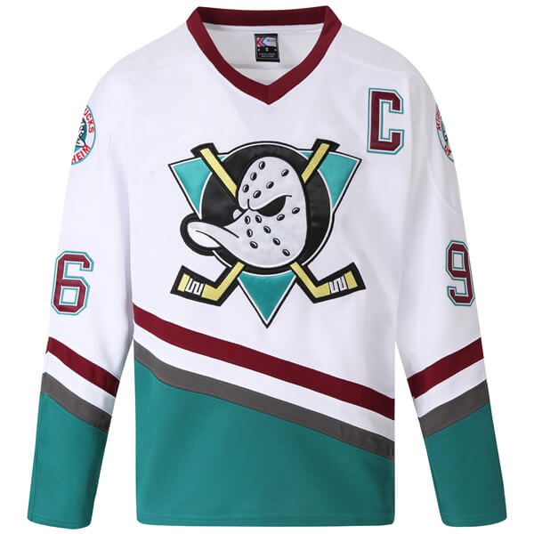mighty ducks jersey white conway