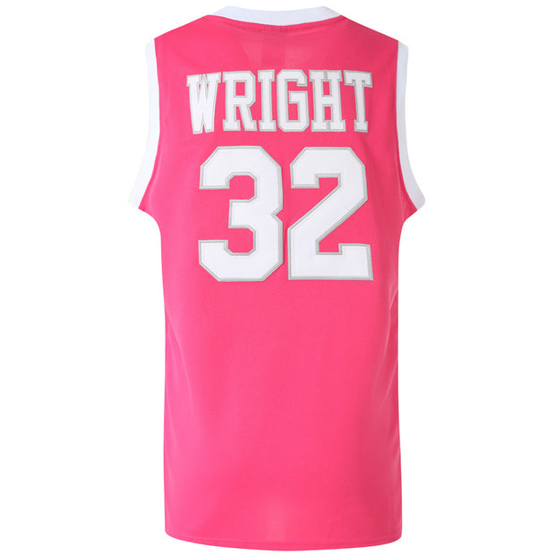 monica wright jersey pink back