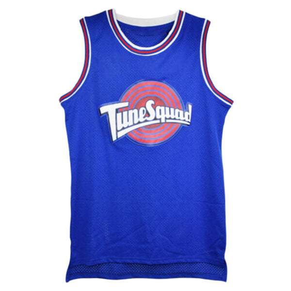 porky pig tune squad jersey blue