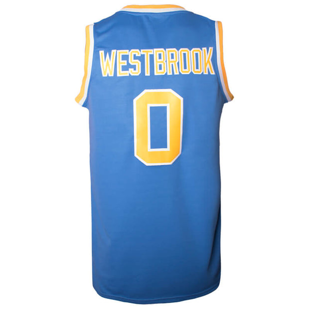 best website 72c70 b3afd Russell Westbrook UCLA Bruins College Throwback Jersey