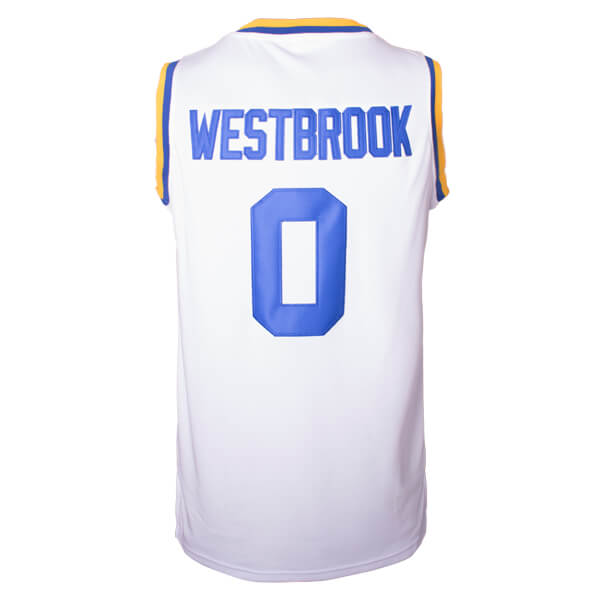 russell westbrook ucla bruins college throwback jersey