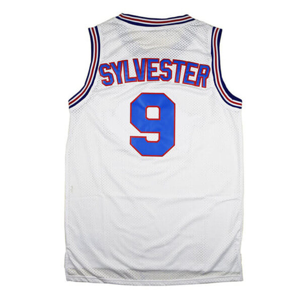 sylvester the cat space jam tune squad jersey