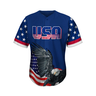 USA Hawk American 1 Baseball Jersey
