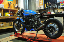 CX500 full bobber kit with 2 in 2 exhaust