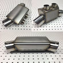 Under engine Stainless exhaust box