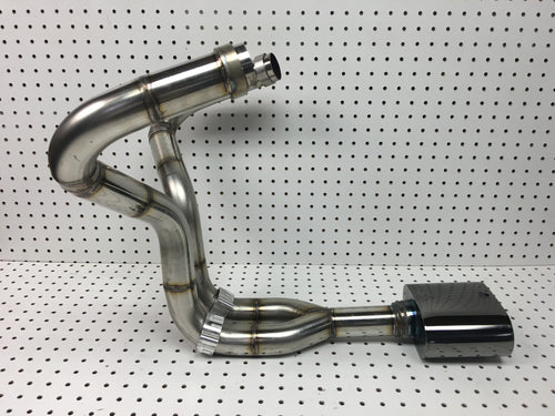 CX500-GL500, CX650-GL650 Stainless 2 into 1 exhaust system
