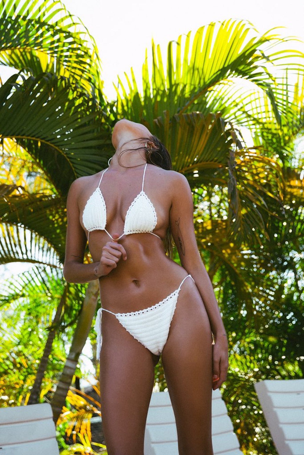 Amore + Sorvete - Elle Bikini in Cream-Amore + Sorvete-Nomads Cove