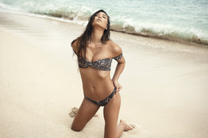 Amore + Sorvete - Gimlet Top in Leopard-Amore + Sorvete-Nomads Cove