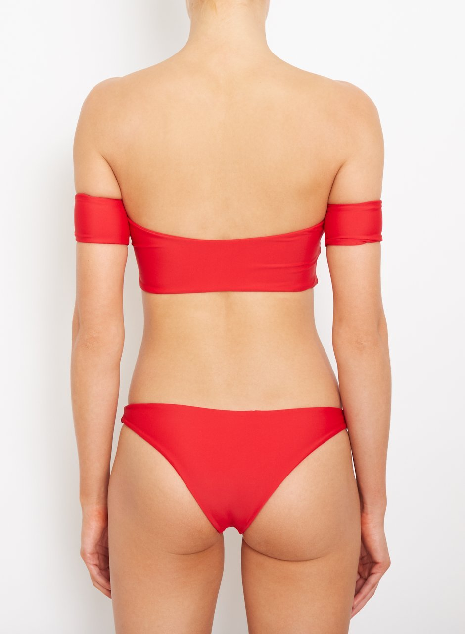 Amore + Sorvete - Gimlet Top in Red-Amore + Sorvete-Nomads Cove
