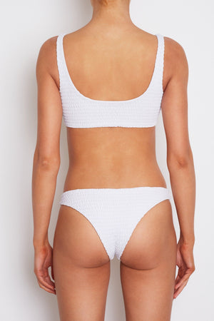 Amore + Sorvete Amore + Sorvete - Parfait Bottom in White (Moderate Coverage) - Nomads Cove