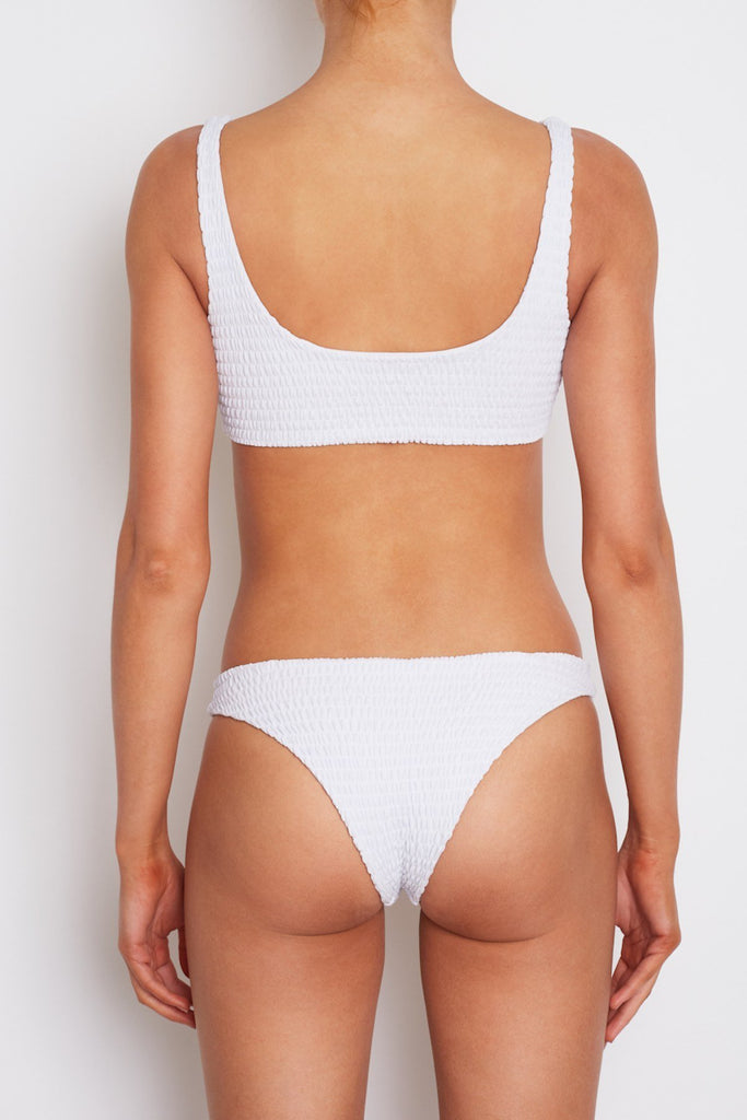 Amore + Sorvete - Parfait Top in White-Amore + Sorvete-Nomads Cove