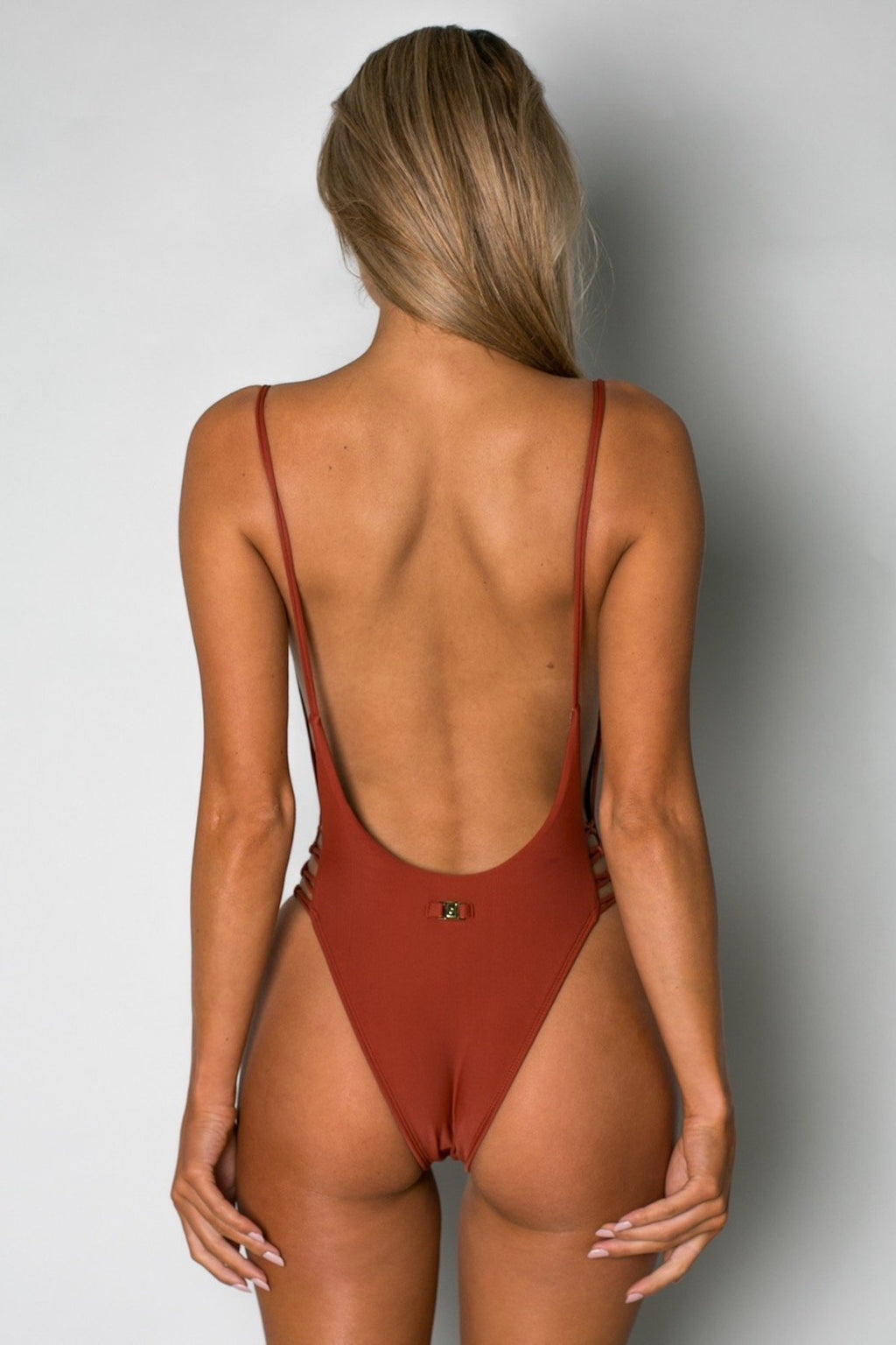 Cantik - Alchemy One Piece in Earth-Cantik Swimwear-Nomads Cove